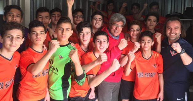 Zaferspor U-15 Takımı Türkiye Şampiyonasında