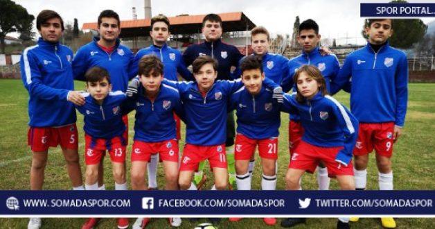 U-15 Ligi: 301 Soma Karaelmasspor 2-1 Akhisar Yıldırımspor