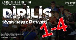 Altındağ Spor 1-4 Soma Spor