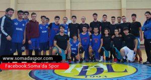 Basketbolda Fen Lisesi ve Mesleki ve Teknik Anadolu Lisesi Galip.