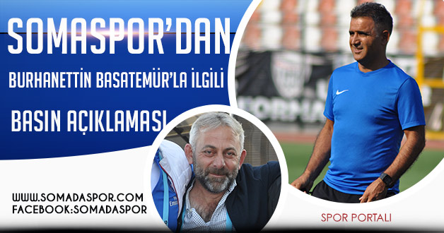 Somaspor Yönetiminden Burhanettin Basatemür'a Güvenoyu!