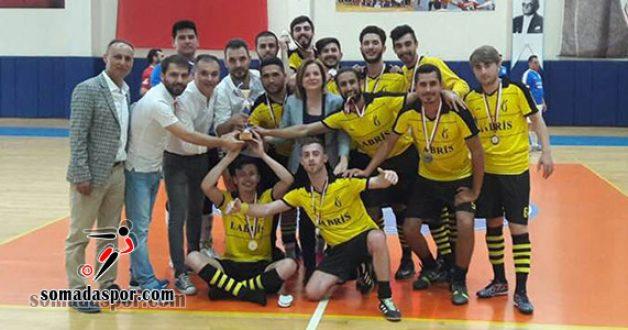 Futsal'da Soma MYO Şampiyon Oldu..
