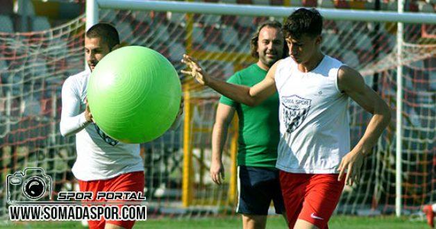 Somaspor'da, Diyarbekirspor Maçının Hazırlıkları Tamamlandı