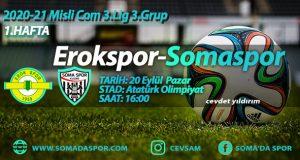 Erokspor-Somaspor Maçının Hakemleri Belli Oldu