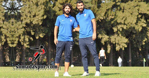 Somaspor'da Kaptanlar Gökhan ve Agah Şampiyonluktan Emin.