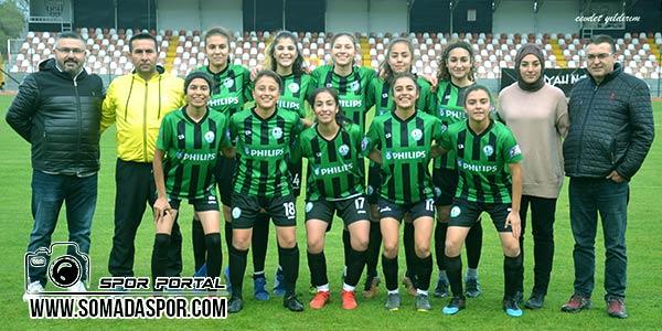 Soma,Zaferspor,Horozkentspor,Bayan Futbol