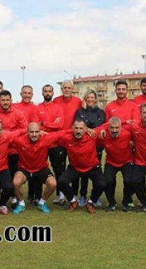 UEFA B Lisans Kursu Başladı.