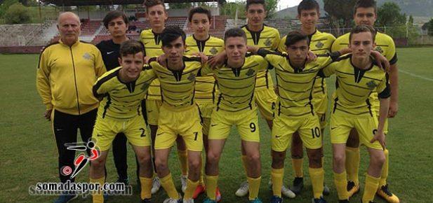 U-17'lerde Somaspor ve Karaelmas Karşılaştı.