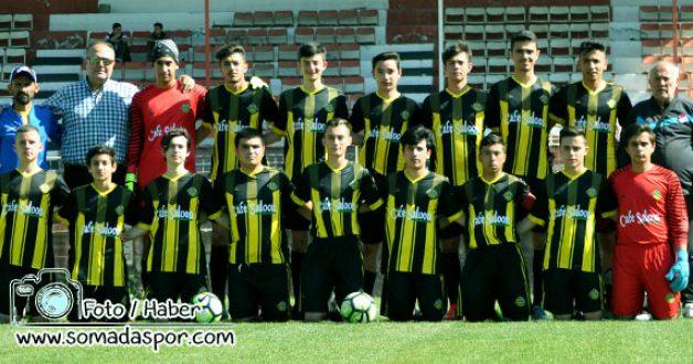 Somaspor ve Turgutalp GSK, U-19 Ligine 3 Puanla Başladı.