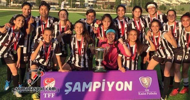 Genç Kızlar Türkiye Şampiyonu Kayseri Gençlerbirliği Oldu.