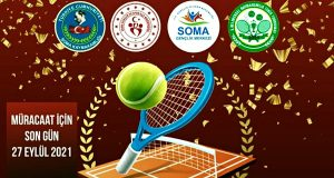 Kaymakamlık Kupası Tenis Turnuvasına Kayıtlar Başladı