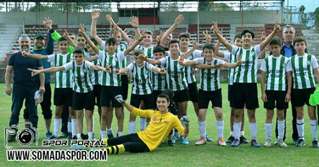 Manisa U-14 Ligi:Turgutalp Gençlikspor 2-1  A.Yıldırımspor