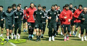 Lider Çatalcaspor Maçının Hazırlıklarını Tamamladı