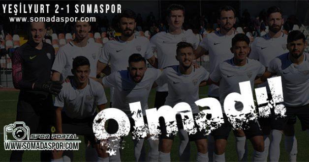 Malatya Yeşilyurt Bld.Spor 2-1 Somaspor