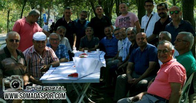 Manisa'lı Saha Komiserleri, Salihli Kurşunlu Piknik Alanında Toplandı