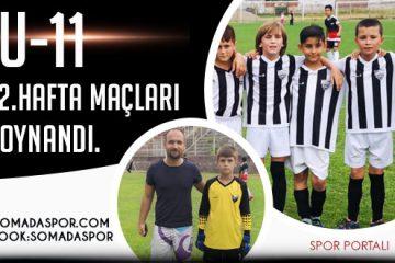 Manisa U-11 Ligi: 2.Hafta Maç Sonuçları, Puan Durumu ve 3.Hafta Maçları