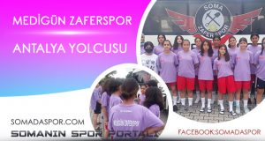 Zaferspor U-13 Kız Futbol Takımı Antalya Yolcusu