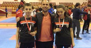 Taekwondo'cu Gür Kardeşler Türkiye Finallerinde