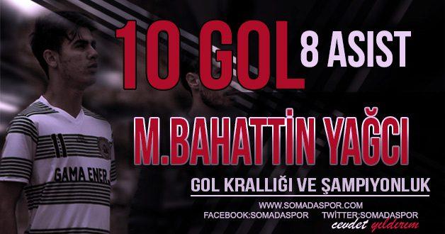 Muhammed Bahattin Yağcı: Gol Krallığı ve Şampiyonluk