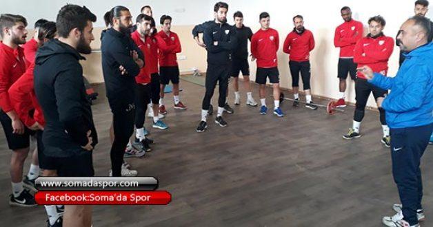 Somaspor Alaşehir Belediyespor Maçının Hazırlıklarına Başladı.