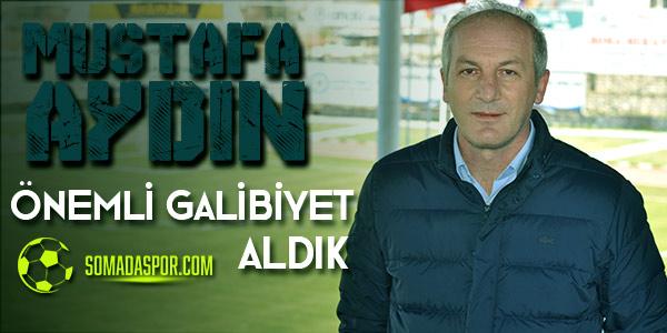 Mustafa Aydın: Galibiyetle Ayrılmak Son Derece Önemliydi