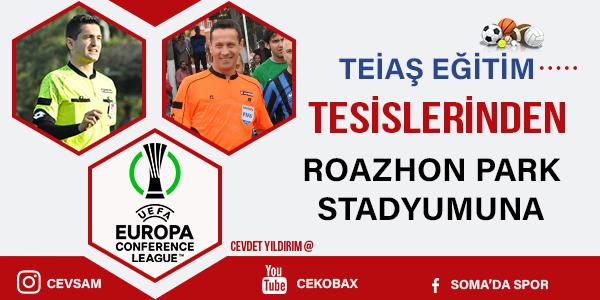 Özkahya ve Uyarcan Rennes Tottenham Maçında