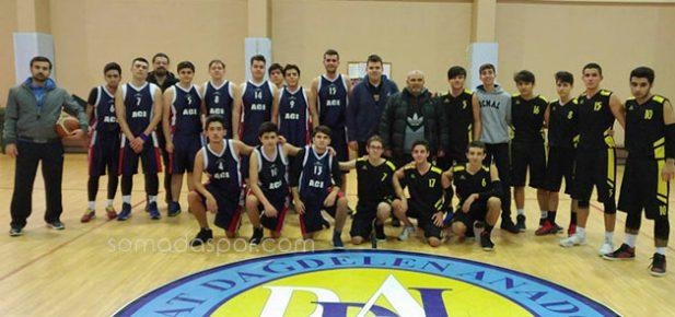 Soma İlçe Basketbol Turnuvasında İki Karşılaşma Oynandı..