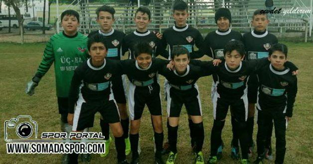 U-14 Ligi: Saruhanlı Bld.Spor 1-4 Zaferspor