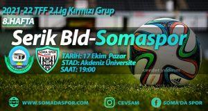 Serik Belediyespor Somaspor  Maç Önü