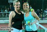 Tenis Turnuvasında Çeyrek ve Yarı Final Maçları Oynandı.
