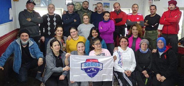 Sodos Türkali – Koyundere Arasında 11 Km Yürüdü