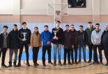 Soma Okul Sporları Basketbol Şampiyonu Soma Fen Lisesi Oldu.