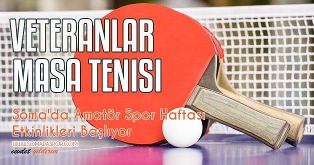 Soma'da Amatör Spor Haftası Etkinlikleri Başlıyor