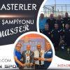Şampiyon Soma Masterler Kupasını Aldı