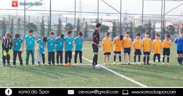 Soma Okul Sporları Küçük Erkekler Futbol Karşılaşması