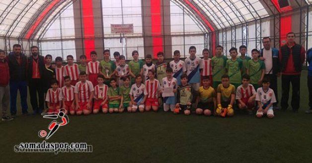 Soma Küçük Erkekler Futbol Şampiyonu 13 Eylül Gama Ortaokulu Oldu.