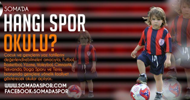 Somada Çocuğunuzu Kayıt Ettireceğiniz Yaz Spor Okulları..