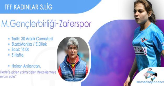 Lider Zaferspor, Gençlerbirliğinin Konuğu Olacak..