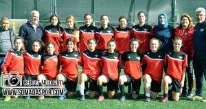 Zaferspor Bayan Futbol Takımı Göz Doldurdu
