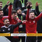Somaspor Erokspor maçının fotoğrafları