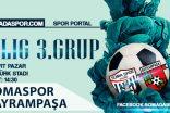 Somaspor, Bayrampaşa Spor Maçının Hakemleri Belli Oldu