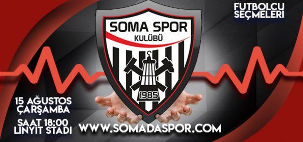 Somaspor A-Takım İçin  Seçme Yapacak..
