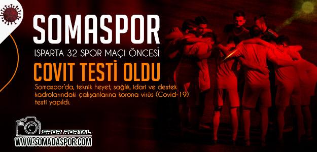 Somaspor'dan Isparta Maçı Öncesi Koronavirüs Açıklaması!