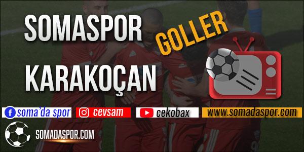 Somaspor Elazığ Karakoçan Maçının Golleri