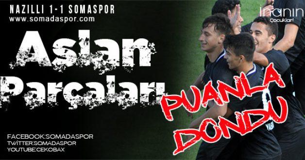 Nazilli Belediyespor 1-1 Somaspor