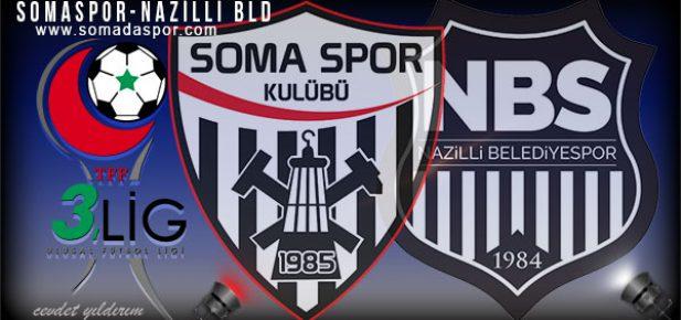 Somaspor-Nazilli Bld.Spor Maçının Hakemleri Belli Oldu