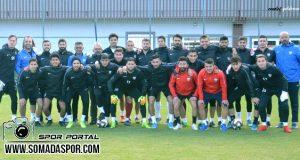 Somaspor Nevşehir Bld.Spor Maçı Hazırlıklarını Sürdürdü