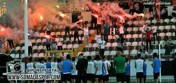 Somaspor'a Play-Off Öncesi Taraftar Desteği