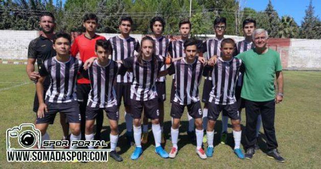 Gelişim Liginde Somaspor'lu Gençler 1 Galibiyet 3 Mağlubiyet Aldı.