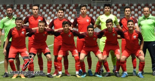 Somaspor U-17 Takımı, Play-Off'lara Kötü Başladı!